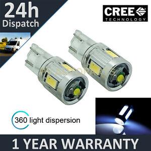 2x-W5W-T10-501-XENO-BIANCO-360-CREE-LAMPADE-LUCI-POSIZIONE-LED-CHIARO-sl103405