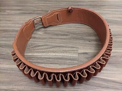 Bandolier 12 Ga 30 Rounds Brandnew Handmade Leather Cartridge Belt