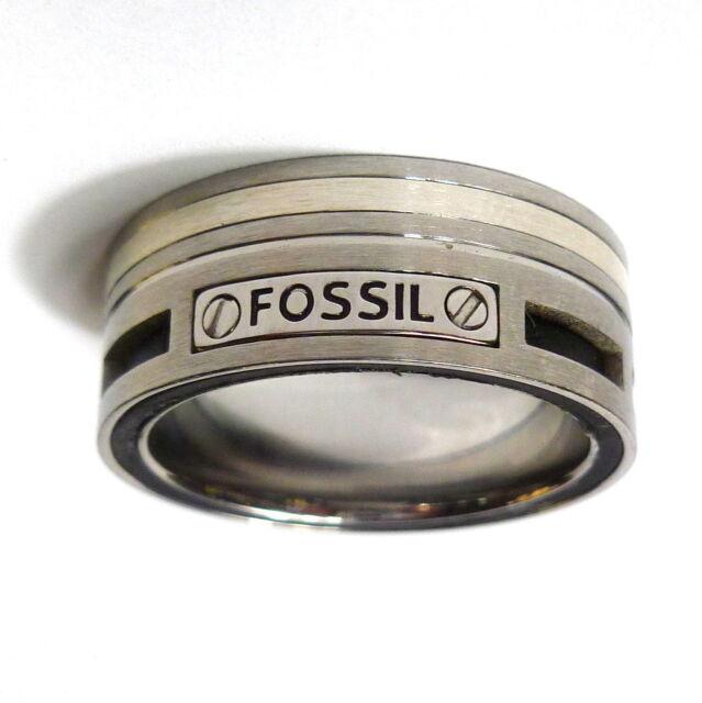 63bcd0a94c Fossil Herren Ring Jf85420 Edelstahl Ringgröße 20 günstig kaufen | eBay