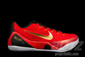 promo code 9ed55 c44e6 Image is loading Nike-KOBE-IX-CHINA-PACK-Size-10-UNIVERSITY-