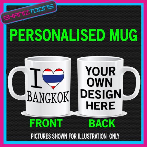 I love coeur Bangkok Thaïlande café Porcelaine Cadeau