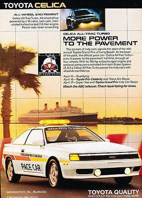 Classic Vintage Advertisement Ad A76-B 1989 Toyota Cressida pride