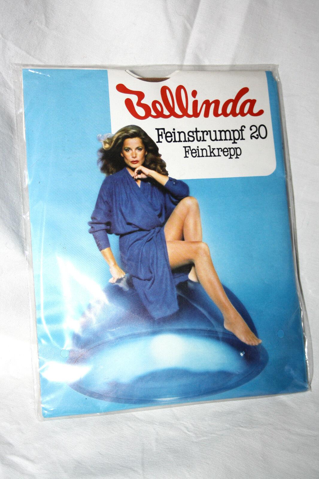 Bellinda Nylon Bas pin-up taille 9 Diamant 20 les chaussettes nylon straps nylon chaussettes Chaussettes 3baf5d