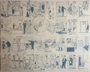 Vintage-Gloom-Chasers-Exhibit-Card-Set-32-Cards-1942