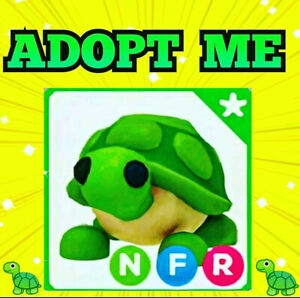 🐢 NEON TURTLE 🐢 with FLY RIDE - Adopt Me - Roblox - flyable rideable pet game.