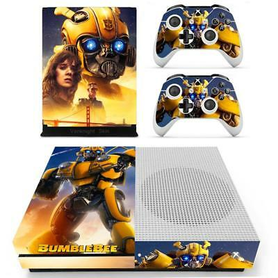 Faceplates, Decals & Stickers Bumblebee Transformers Vinyl Skins Decals Stickers Xbox One S Slim Consoles Wrap Video Game Accessories