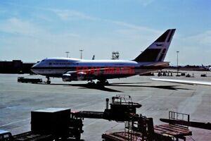 PHOTO  3B-NAG BOEING 747SP AIR MAURITUS LONDON HEATHROW 07-08-1988