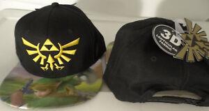 645d687d9 Details about The Legand Of Zelda Lenticular Bill Video Game Snap Back Hat  Nwt