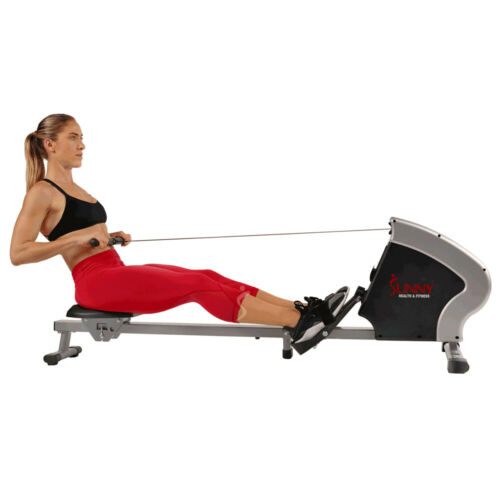 Fitness Suite /& Towel Sunny Health and Fitness SPM Magnetic Rowing Machine