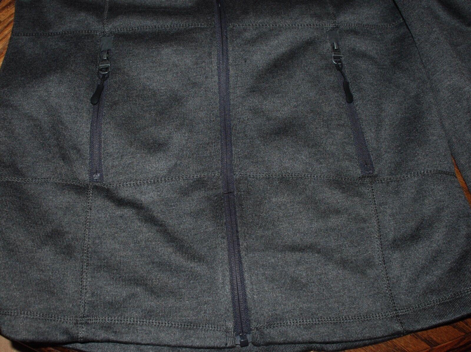 """XL Nuevo con etiquetas para mujer Bench Bench Bench """"antracita jaspeado"""" thinlined Cremallera Thru Sudadera Con Capucha f09805"""