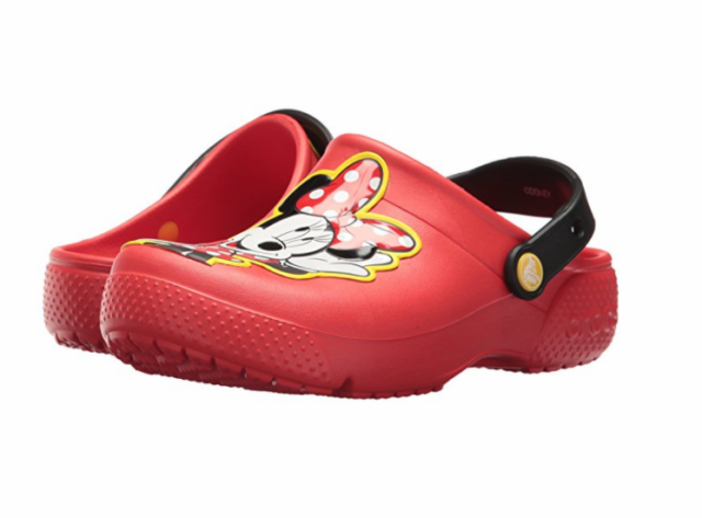 e20ae6ab0d96 Crocs Fun Lab Minnie Clog Flame Kids Girls Slingback Mule Size 11m ...