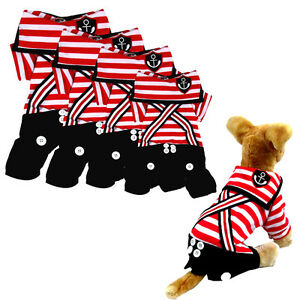 Pet Dog Cat Puppy Jumpsuit Shirt Warm Pet Clothes Apparel Costume Coat Jacket