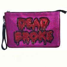 Iron Fist Dead Broke Zombie Blood Punk Rock Gothic Metal Emo Clutch Bag Purse