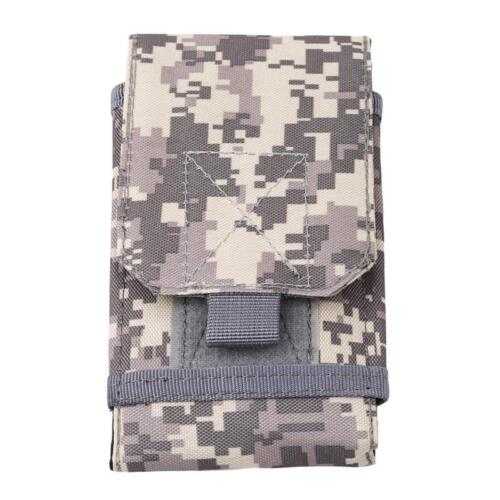 Tactical Military Molle Belt Waist Pack Bag Phone Pocket Pouch DD