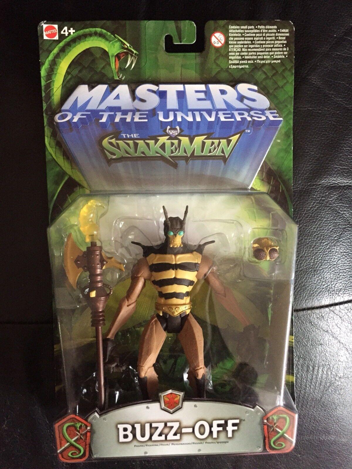 Masters Of The Universe VS Snakemen 'Buzz-Off' Figure 2003 Mattel BNIB