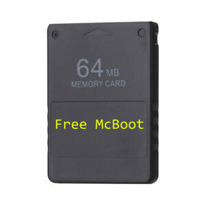 Free-McBoot-FMCB-64-MB-Memory-Card-for-PS2-v1-953-ship-from-New-York