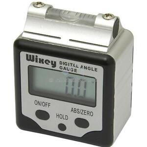 Wixey-WR360-Digital-Angle-Inclinometer-Gauge-Hold-Button-Vial-Spirit-Level