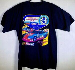 VTG-NASCAR-1992-Richard-Petty-Fan-Appreciation-Tour-T-Shirt-XL-Black-NWOT-NEW