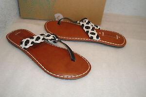 Roxy Damenschuhe NWB Mykonos schwarz Schuhes Weiß Sandales Schuhes schwarz 10 MED NEW     e21a69