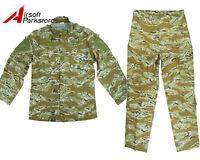 Military Special Force Tactical Uniform Shirt Pants Desert Tiger Stripe Camo Xl