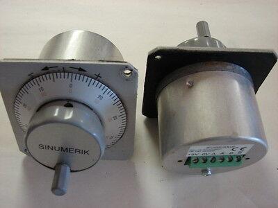 Sinumerik 6FC9320-5DC00 Hand Wheel Encoder