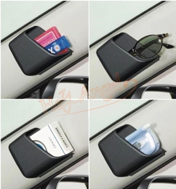 2pcs Universal Car Auto Mobile Phone Organizer Storage Bag Box Mount Holder