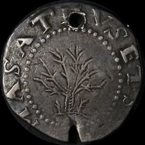 1652-Shilling-Oak-Tree-Holed-Choice-F-Details-Nice-Eye-Appeal-Nice-Strike