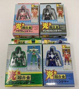 Sentai Zyuranger Power Ranger Figures Taiwan