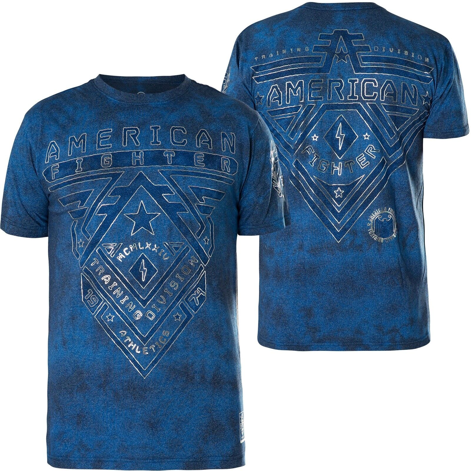 American Fighter Affliction T-shirt Crossroads ARTISAN BLU T-shirts