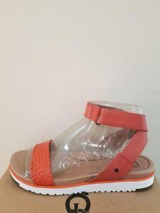 9369af670bb Details about Ugg Australia Women's Laddie Sandals Size 9 NEW NIB