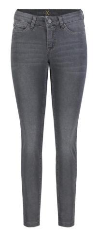 MAC Damen Jeans Dream Skinny 5402 Dark Grey Used Wash D975