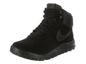 a36acc3b62fdb8 Image is loading NIKE-Hoodland-Suede-Mens-Shoes-Black-Anthracite-654888-