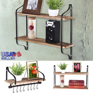 Rustic-Wall-Mounted-Floating-Shelves-Industrial-Wood-Multi-purpose-Storage