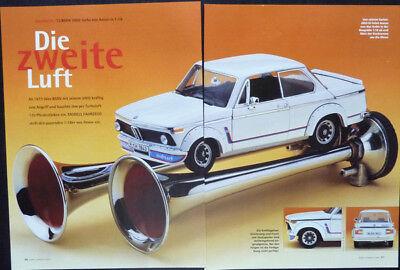' 73 Bmw 2002 Turbo In 1-18 Di Anson... Un Modello Relazione #2001-mostra Il Titolo Originale