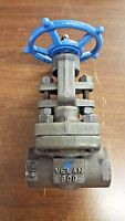 Velan Valve 1 In. 800 Forged Steel Threaded