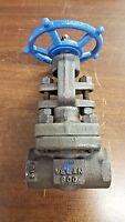 Velan Valve 1/2 In. 800 Forged Steel Threaded