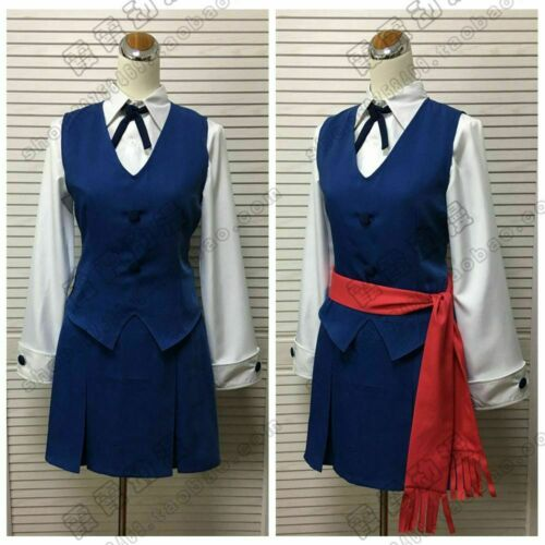 Little Witch Academia Akko Kagari Lotte Yanson Cosplay Costume Dress New