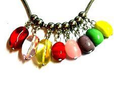 Made On Terra Peanut Butter and Jelly Euro European Italian Style Bracelet Bead Charm