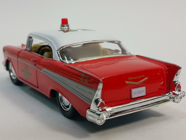 1957 Fire Chief Chevy Bel Air 1 40 Scale Ebay Drag Car