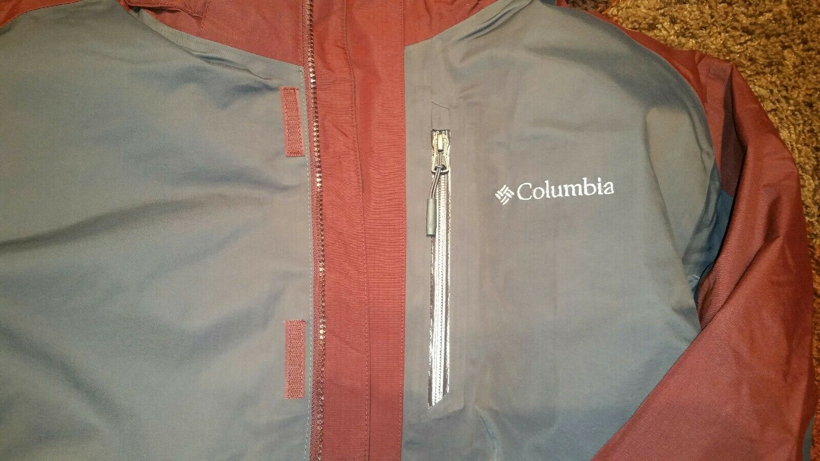 NEW COLUMBIA MEN'S RURAL MOUNTAIN II SIZE INTERCHANGE COAT SIZE II XL b25c65