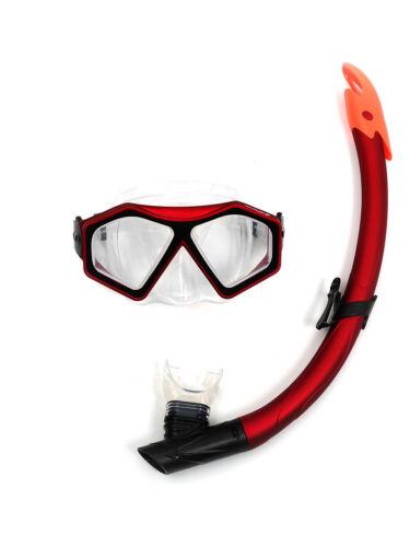 Kinderbadespaß tbf 2-teilig divesport silikon Maske & Standard/Trocken Schnorchel set