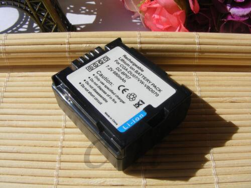 680mAH Li-ion Battery for HITACHI DZ-BP7S /& DZ-BX35 DZ-BX35A DZ-BX35E