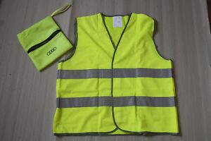 1-Original-Audi-Warnweste-warning-vest-mit-Stofftasche-NEU-3