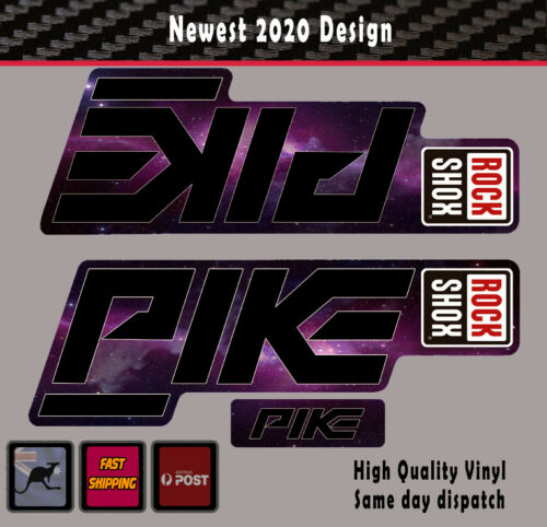 Rockshox Pike Style 2020 fork Sticker 4 styles REPRODUCTION decal Vinyl
