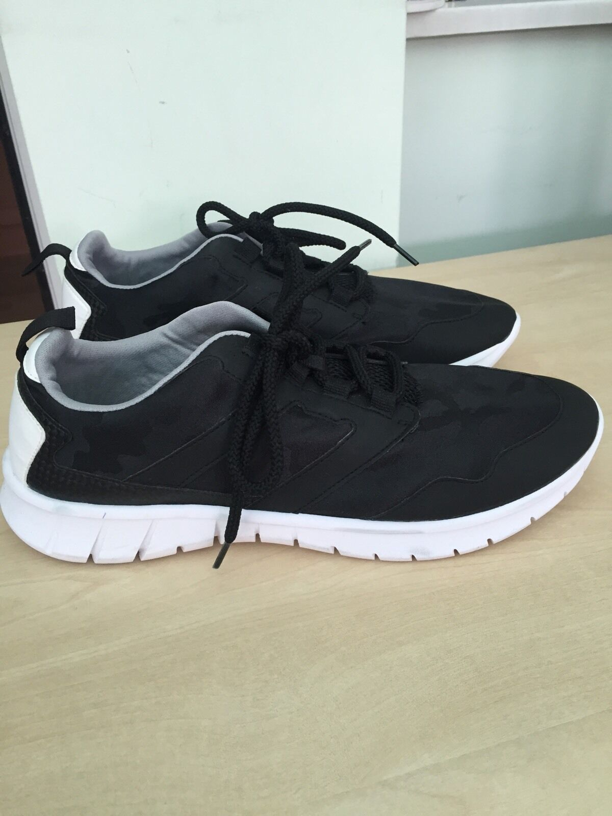 ZARA BLACK SNEAKERS TRAINERS SHOES SIZE UK8/EUR41/US10