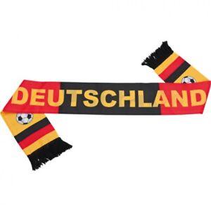 """Geschickt Fan Schal Fanschal Fanartikel - """"deutschland"""" - Aus Polyester - 130 Cm Mit Den Modernsten GeräTen Und Techniken"""