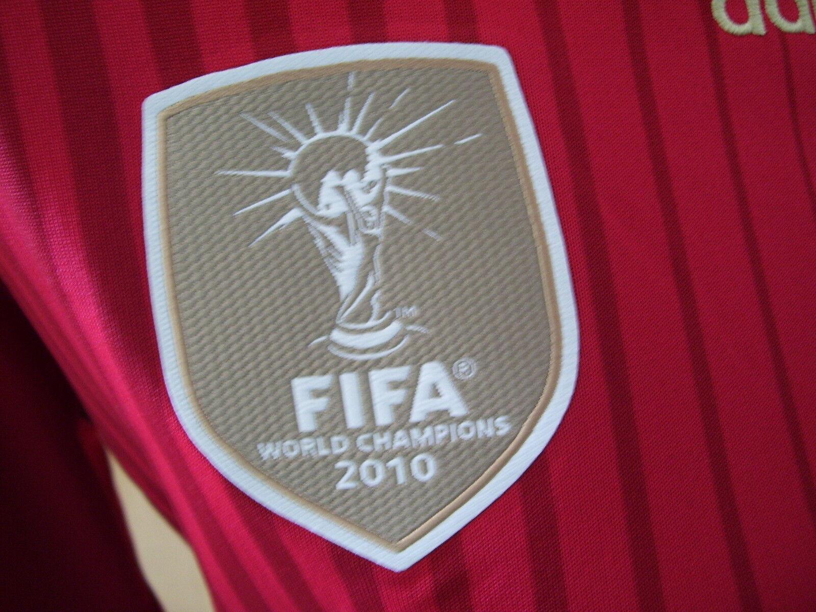 Spanien adidas Fifa 2010 Trikot Kids Home Jersey G85231 Shirt Shirt Shirt 176 neu 53f3d8