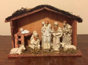 Christmas Nativity Scene.Details About Christmas Nativity Scene Jesus In A Manger Figures Mary Joseph Kings And Boy
