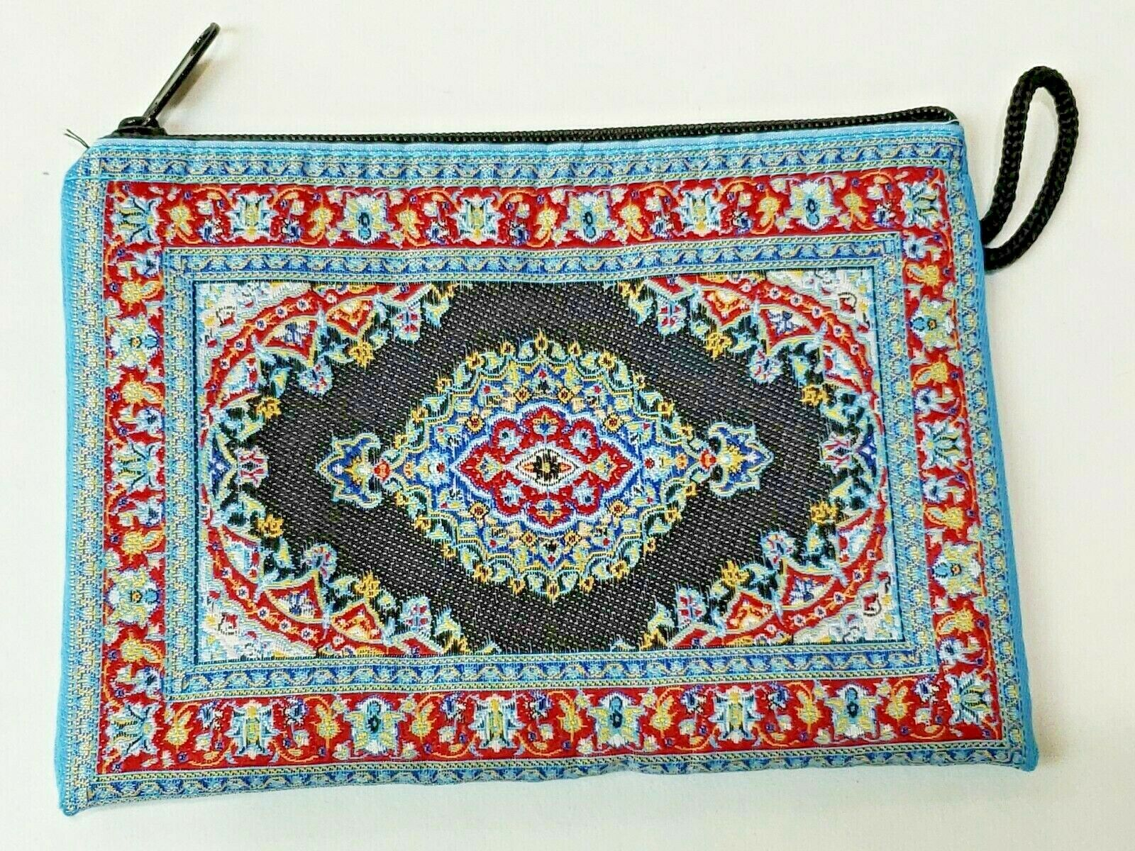 Authentic Coin Purse, Turkish Rug Design Coin PurseKnitted and Silky soft