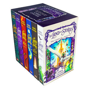 The-Land-of-Stories-6-Books-Box-Set-Chris-Colfer-Pack-Beyond-the-Kingdom-NEW